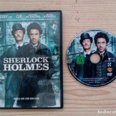 Cine: SHERLOCK HOLMES DVD. Lote 179392936
