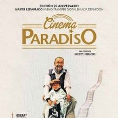 Cine: CINEMA PARADISO (2 DVDS) DIRECTOR: GIUSEPPE TORNATORE ACTORES: PHILIPPE NOIRET, JACQUES PERRIN. Lote 179398008