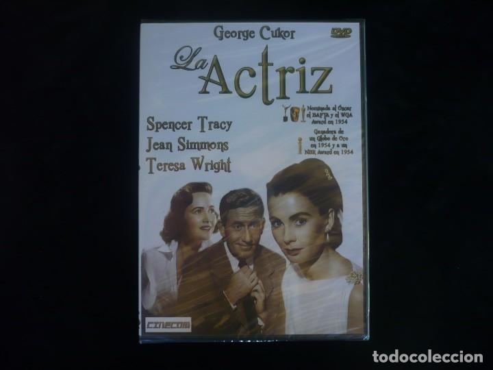 LA ACTRIZ - SPENCER TRACY-DVD NUEVO PRECINTADO (Cine - Películas - DVD)