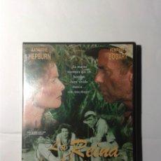 Cine: LA REINA DE AFRICA DE JOHN HUSTON DVD NUEVO. Lote 179403313
