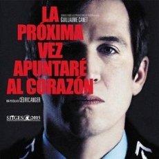 Cine: LA PRÓXIMA VEZ APUNTARÉ AL CORAZÓN DIRECTOR: CÉDRIC ANGER ACTORES: GUILLAUME CANET, ANA GIRARDOT. Lote 179522045