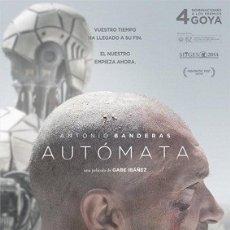 Cine: AUTÓMATA DIRECTOR: GABE IBÁÑEZ ACTORES: ANTONIO BANDERAS, BIRGITTE HJORT SØRENSEN, MELANIE GRIFFITH. Lote 179522625