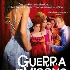 Cine: GUERRA DE MISSES DIRECTOR: PATRICE LECONTE ACTORES: BENOÎT POELVOORDE, OLIVIA BONAMY, JACQUES MATHO. Lote 179523251