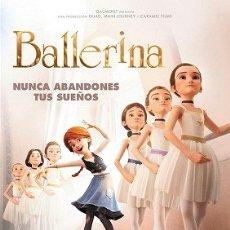 Cine: BALLERINA DIRECTOR: ÉRIC WARIN, ÉRIC SUMMER ACTORES: ANIMACIÓN . Lote 179523867
