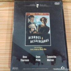 Cine: ACORDES Y DESACUERDOS WOODY ALLEN . Lote 179527546