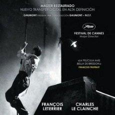 Cine: UN CONDENADO A MUERTE SE HA ESCAPADO DIRECTOR: ROBERT BRESSON ACTORES: FRANÇOIS LETERRIER. Lote 179529483