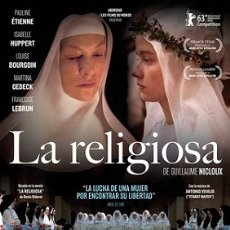Cine: LA RELIGIOSA DIRECTOR:GUILLAUME NICLOUX ACTORES: PAULINE ETIENNE, ISABELLE HUPPERT, LOUISE BOURGOIN. Lote 179535500
