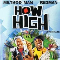 Cine: HOW HIGH (BUEN ROLLITO) METHOD MAN & REDMAN . Lote 179536846