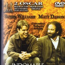 Cine: EL INDOMABLE WILL HUNTING ROBIN WILLIAMS & MATT DAMON . Lote 179546041