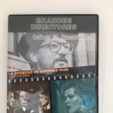 Cine: PROGRAMA DOBLE FASSBINDER.DVD. Lote 179550217