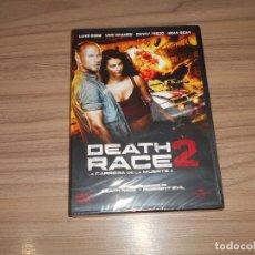 Cine: DEATH RACE 2 LA CARRERA DE LA MUERTE 2 DVD NUEVA PRECINTADA. Lote 179945053