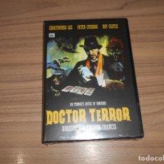 Cine: DOCTOR TERROR DVD CHRISTOPHER LEE PETER CUSHING NUEVA PRECINTADA. Lote 179945233