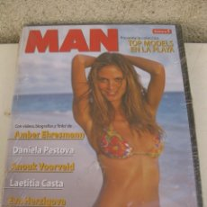 Cine: DVD - MAN - TOP MODELS EN LA PLAYA Nº 5 - SPORTS ILLUSTRATED - AMBER EHRESMANN - DANIELA PESTOVA. Lote 180010747
