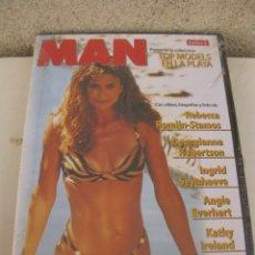 Cine: DVD - MAN - TOP MODELS EN LA PLAYA Nº 2 - SPORTS ILLUSTRATED - KATHY IRELAND - ANGIE EVERHART.. Lote 180011348
