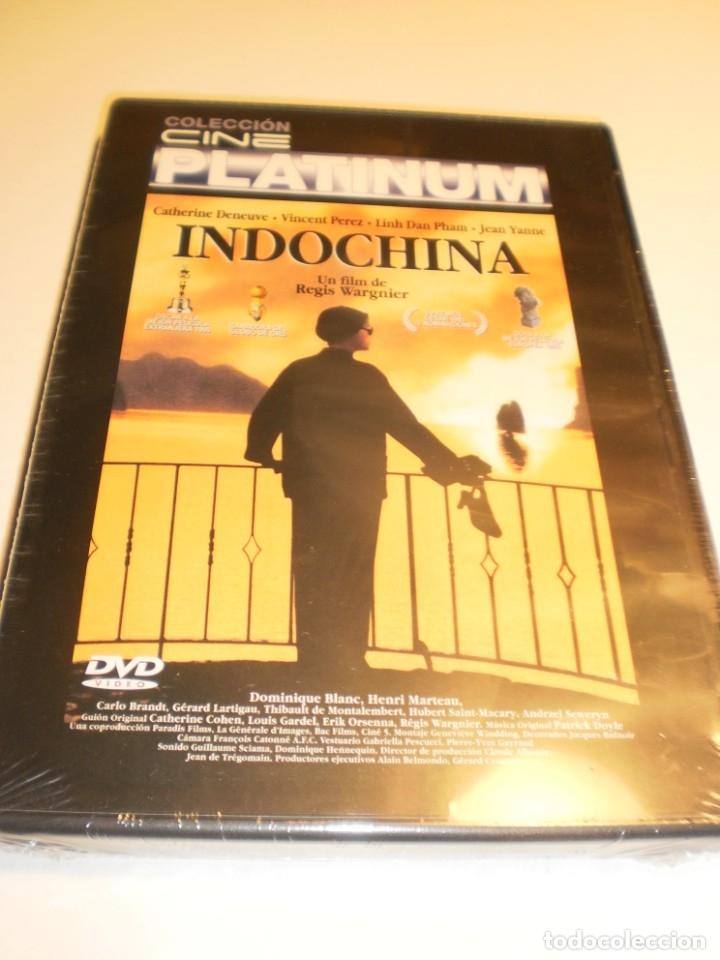 DVD. INDOCHINA. CATHERINE DENEUVE. 145 MIN (PRECINTADA) (Cine - Películas - DVD)