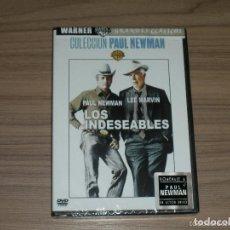 Cine: LOS INDESEABLES DVD PAUL NEWMAN LEE MARVIN NUEVA PRECINTADA. Lote 180038923