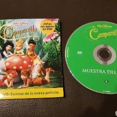 Cine: RARO CAMPANILLA MUESTRA DVD: ESCENAS DE LA NUEVA PELICULA. Lote 180039603