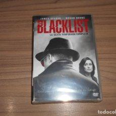 Cine: BLACKLIST TEMPORADA 6 COMPLETA DVD 903 MIN. NUEVA PRECINTADA. Lote 180087166