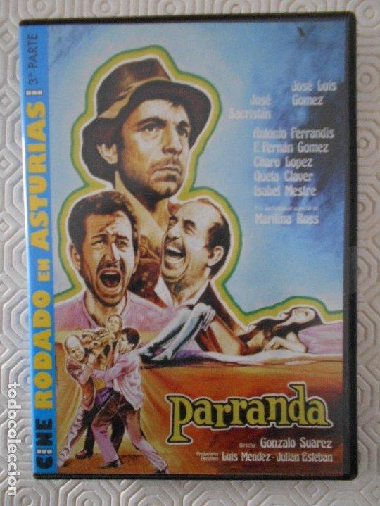PARRANDA. DVD DE LA PELICULA DE GONZALO SUAREZ. CON JOSE LUIS GOMEZ, JOSE SACRISTAN, ANTONIO FERRAND (Cine - Películas - DVD)