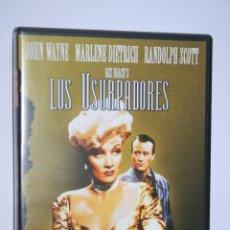 Cine: LOS USURPADORES (JOHN WAYNE, MARLENE DIETRICH) *** DVD CINE WESTERN *** . Lote 180132837