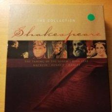 Cine: SHAKESPEARE. THE COLLECTION (5 DVD) VERSIÓN INGLESA. Lote 180188457