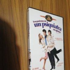 Cine: LOS PACIENTES DE UN PSIQUIATRA EN APUROS. DVD EN BUEN ESTADO. COMEDIA. Lote 180203770