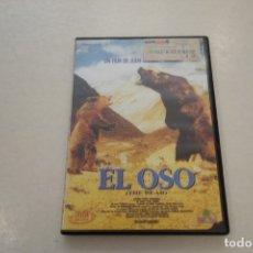 Cine: TEASLI. DVD VIDEO . EL OSO. UN FILM DE JEAN JACQUES ANNAUD. Lote 180210490