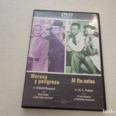 Cine: TEASLI. DVD VIDEO . MORENO Y PELIGROSA. AL FIN SOLOS.. Lote 180210535