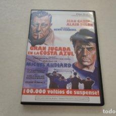 Cine: TEASLI. DVD VIDEO .GRAN JUGADA EN LA COSTA AZUL. JEAN GABIN. ALAIN DELON.. Lote 180210593