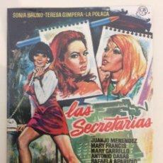 Cinema: LAS SECRETARIAS. PEDRO LAZAGA. MERCURY FILMS. DVD. PRECINTADA.. Lote 180229266
