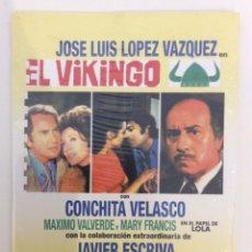 Cinema: EL VIKINGO. PEDRO LAZAGA. SUEVA FILMS. DVD. PRECINTADO. Lote 180229793