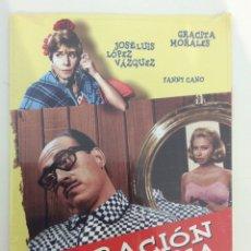 Cinema: OPERACIÓN SECRETARIA. MARIANO OZORES. DIVISA. DVD. PRECINTADO. Lote 180230785