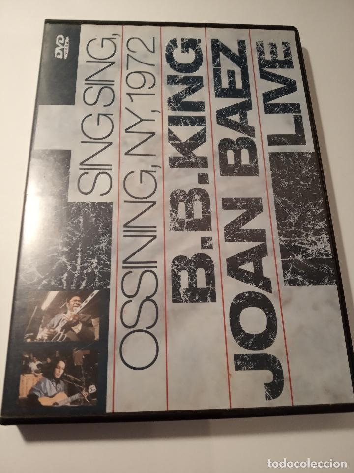 B.B.KING JOAN BAEZ LIVE - SING SING OSSINING, NY, 1972 _AN (Cine - Películas - DVD)