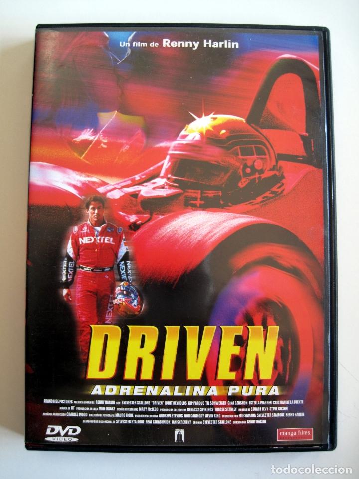 DRIVEN • DVD • SYLVESTER STALLONE (Cine - Películas - DVD)