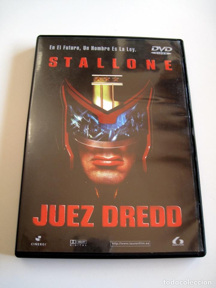 Cine: JUEZ DREDD • DVD (Lauren Films) • STALLONE - Foto 2 - 180266205