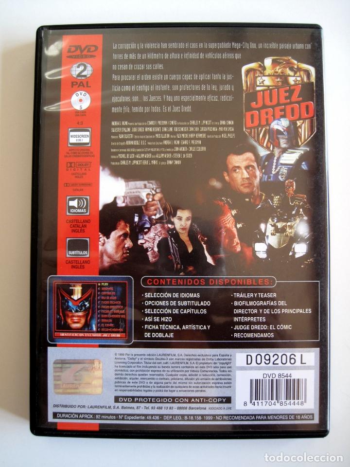Cine: JUEZ DREDD • DVD (Lauren Films) • STALLONE - Foto 3 - 180266205