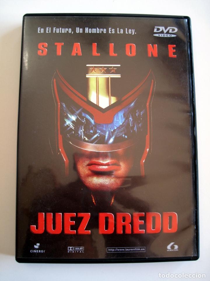 JUEZ DREDD • DVD (LAUREN FILMS) • STALLONE (Cine - Películas - DVD)