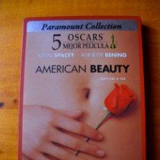 Cine: AMERICAN BEAUTY (DVD EN CAJA METALICA). Lote 180287942
