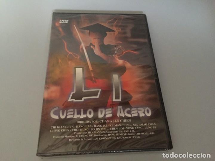 DVD LI CUELLO DE ACERO CHI KUAN-CHUN ACCION ARTES MARCIALES PRECINTADA A ESTRENAR (Cine - Películas - DVD)