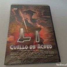 Cine: DVD LI CUELLO DE ACERO CHI KUAN-CHUN ACCION ARTES MARCIALES PRECINTADA A ESTRENAR . Lote 180293147