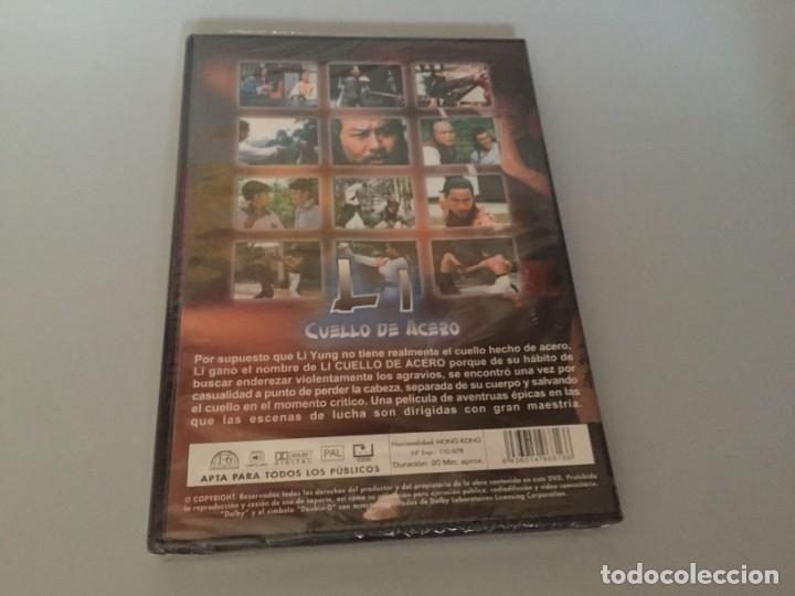 Cine: DVD LI CUELLO DE ACERO Chi Kuan-Chun ACCION ARTES MARCIALES PRECINTADA A ESTRENAR - Foto 2 - 180293147