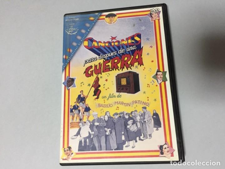 DVD CANCIONES PARA DESPUES DE UNA GUERRA INCLUYE DOCUMENTAL EXTRA IMPERIO ARGENTINA LOLA FLORES (Cine - Películas - DVD)