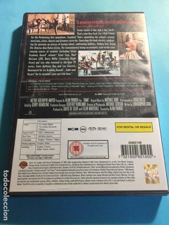 Cine: DVD FAME FAMA Alan Parker Irene Cara Lee Curreri Laura Dean V.O. - Foto 2 - 180295413