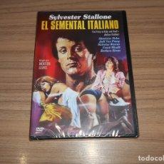 Cine: EL SEMENTAL ITALIANO DVD SYLVESTER STALLONE CINE EROTICO NUEVA PRECINTADA. Lote 180295443