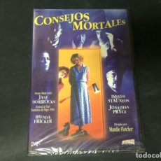 Cine: DVD CONSEJOS MORTALES JANE HORROCKS JONATHAN PRYCE BRENDA FRICKER PRECINTADA A ESTRENAR. Lote 180295456