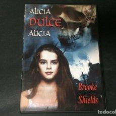 Cine: DVD ALICIA DULCE ALICIA - EL ROSTRO DE LA MUERTE - COMMUNION LINDA MILLER BROOKE SHIELDS TERROR. Lote 180295865