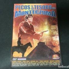 Cine: DVD PECOS Y EL TESORO DE MOCTEZUMA MAURIZIO LUCIDI ROBERT WOODS SPAGHETTI WESTERN. Lote 180295951