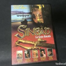Cine: DVD SIMBAD SINBAD LA GRAN BATALLA MICKEY ROONEY RICHARD GRIECO RYAN SLATER. Lote 180295988