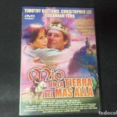 Cine: DVD MIO EN LA TIERRA DEL MAS ALLA - EL PRINCIPE DE LA TIERRA DE MÁS ALLÁ CHRISTIAN BALE CHRISTOPHE . Lote 180296056