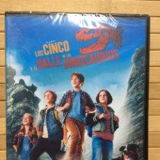 Cine: LOS CINCO Y EL VALLE DE LOS DINOSAURIOS DVD - PRECINTADO -. Lote 180329930